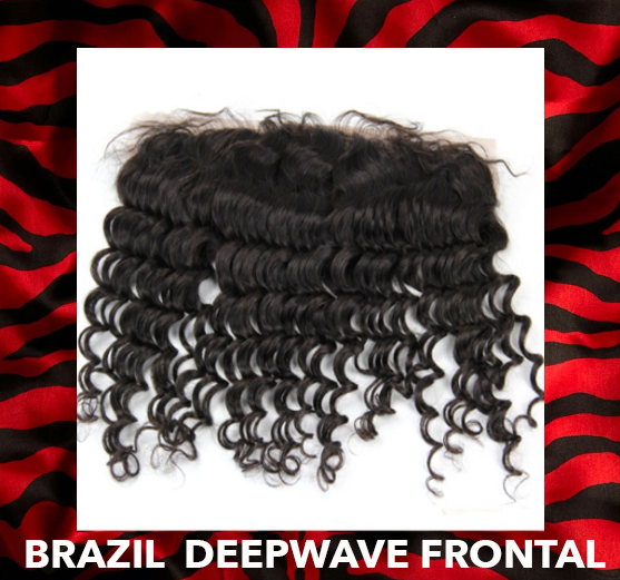 BRAZIL DEEP WAVE FRONTAL - ALL NEW PREMIUM COLLECTION