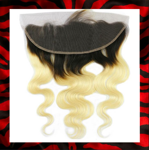 #613/1B ROOT BODY WAVE FRONTAL - ALL NEW PREMIUM COLLECTION!