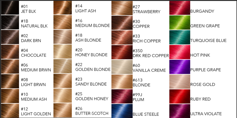 CUSTOM COLORS  (WITH 1B ROOT)- #20 HONEY BLONDE