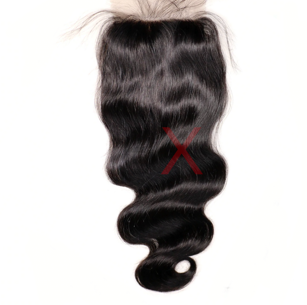 SILK CLOSURES - 4 X 4 - MINK HAIR