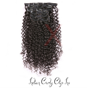 INDIAN CURLY CLIP INS