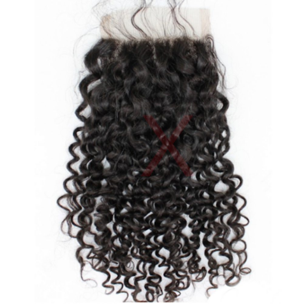 CR- 3 BUNDLES + CLOSURE - INDIAN CURLY