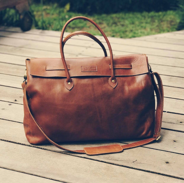 """The Connie"" Leather Bag"