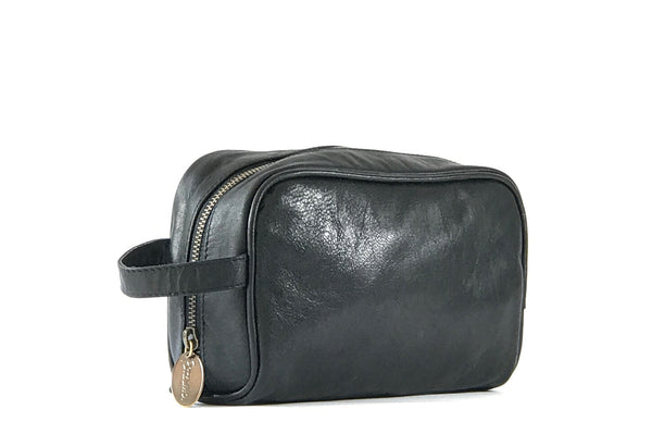 """Vega"" Black Small Travel Bag"