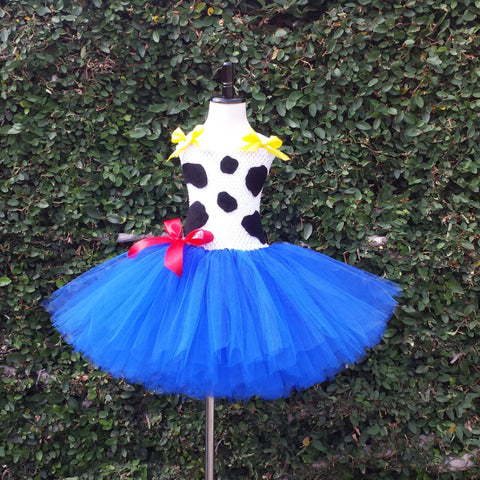 Jessie Toy Story Inspired Tutu Dress - Super Capes and Tutus, Tutu Dress, [product_tags]