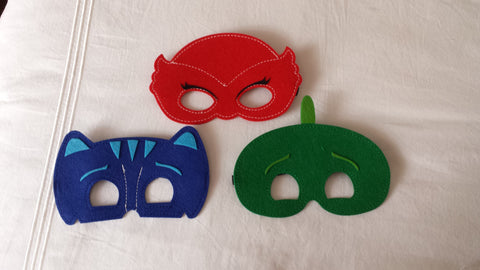Party Packs!! Disney Inspired PJ Mask Superhero Mask - Super Capes and Tutus, Superhero Masks, [product_tags]