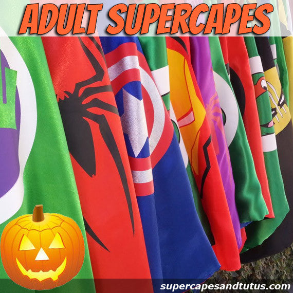 Sale! Adult Superhero Capes - Ready to Ship - Super Capes and Tutus, Superhero Capes, [product_tags], Super Capes and Tutus