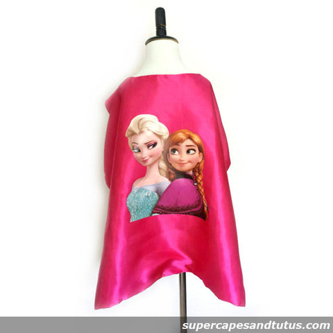 Frozen Anna and Elsa Cape and Mask - Super Capes and Tutus, Superhero Capes, [product_tags]