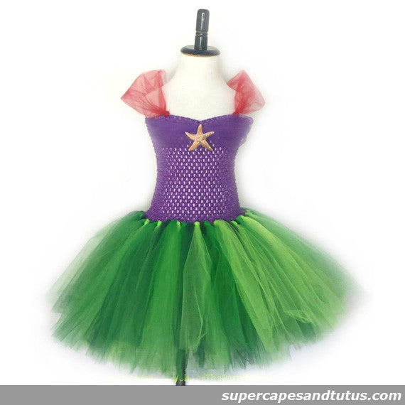 Under the Sea Mermaid Inspired Tutu Dress - Super Capes and Tutus, Tutu Dress, [product_tags], Super Capes and Tutus