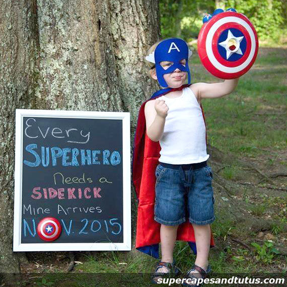 Super Captain Shield Superhero Cape and Mask - Super Capes and Tutus, Superhero Capes, [product_tags], Super Capes and Tutus