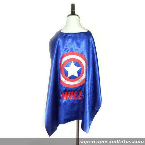 Personalized Superhero Cape with Name Iron On/ Birthday/ Gifts/ Christmas/ Stocking Stuffers - Super Capes and Tutus, Superhero Capes, [product_tags]