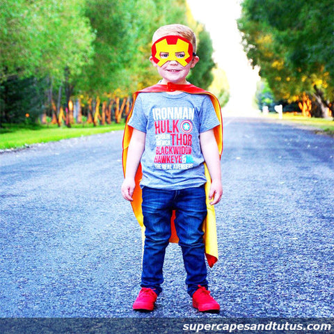 Man of Steel Superhero Cape and Mask - Super Capes and Tutus, Superhero Capes, [product_tags], Super Capes and Tutus