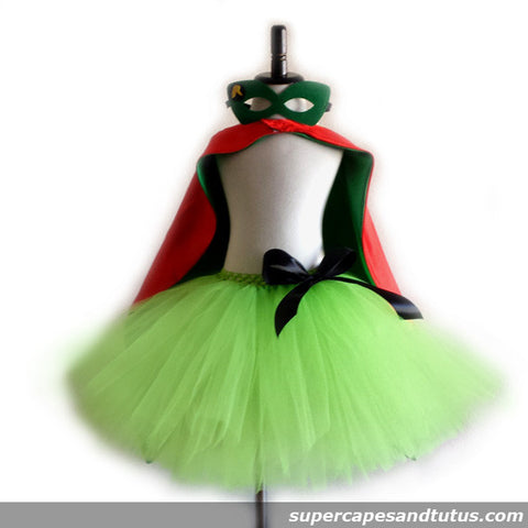 Super R Tutu with Cape and Mask - Super Capes and Tutus, Tutu Dress, [product_tags]