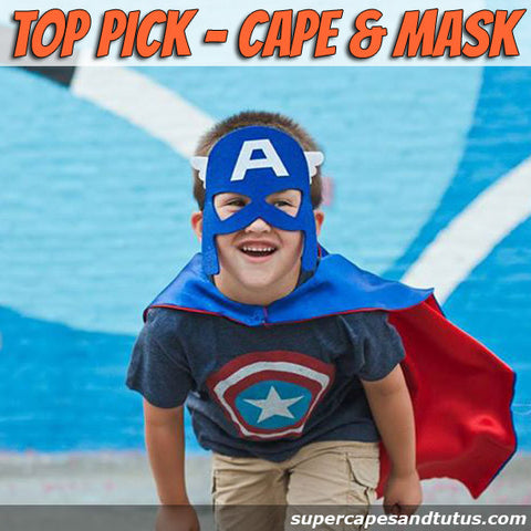 Superhero Cape and Mask - Super Capes and Tutus, Superhero Capes, [product_tags], Super Capes and Tutus