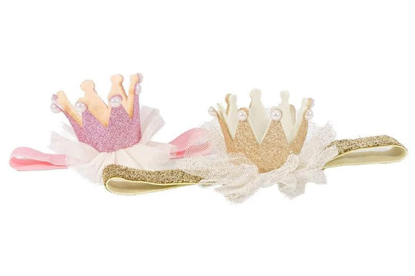 Birthday Princess Crown Headband - Super Capes and Tutus, Headbands, [product_tags], Super Capes and Tutus