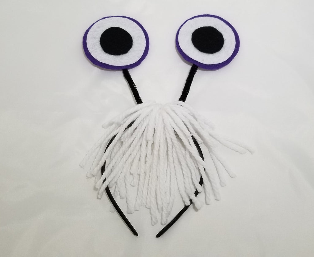 Monster Eyes and Hair Headband - Super Capes and Tutus, Headbands, [product_tags], Super Capes and Tutus