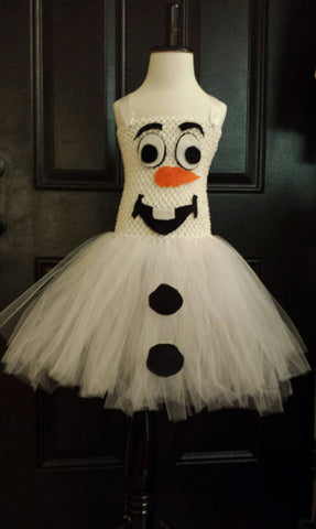 Olaf Inspired Tutu Dress - Super Capes and Tutus, Tutu Dress, [product_tags]