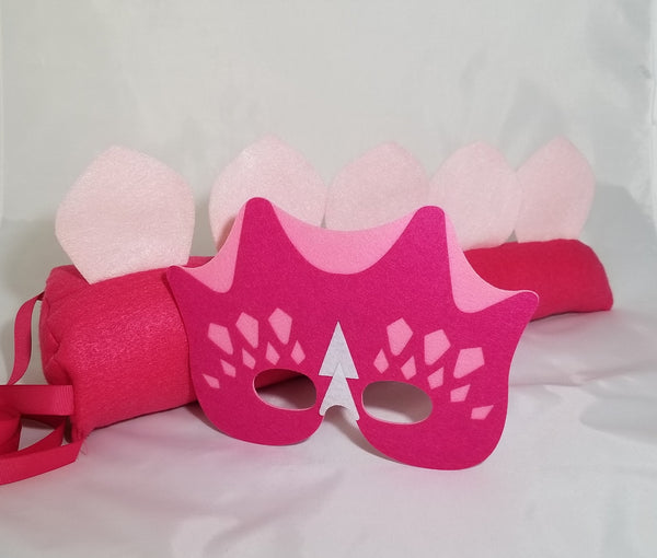 Dinosaur Tail and Mask - Super Capes and Tutus, Dinosaur Tails, [product_tags], Super Capes and Tutus