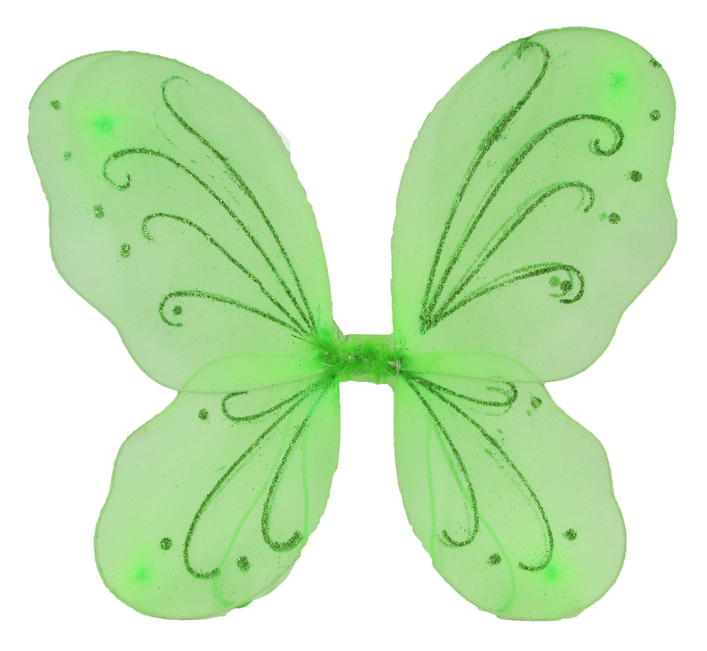 Lime Green Butterfly Wings