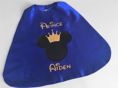 Mickey Prince Birthday Cake Smash Outfit - Super Capes and Tutus, Birthday Outfits, [product_tags]