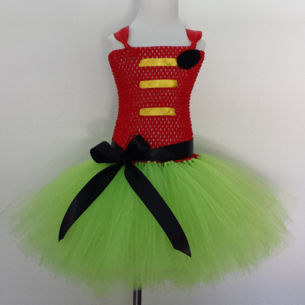 Super R Inspired Tutu Dress - Super Capes and Tutus, Tutu Dress, [product_tags], Super Capes and Tutus