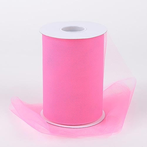 Shocking Pink Tulle Roll - Super Capes and Tutus, DYI Tutus, [product_tags], Super Capes and Tutus
