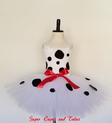 Dalmatian Tutu Dress - Super Capes and Tutus, Tutu Dress, [product_tags], Super Capes and Tutus