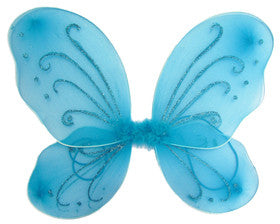 Turquoise Butterfly Wings - Super Capes and Tutus, , [product_tags], Super Capes and Tutus
