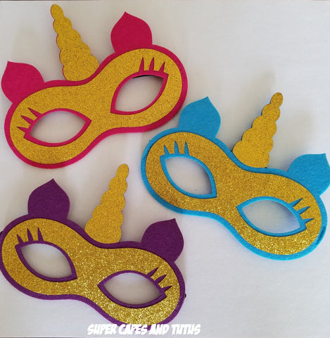 Unicorn Mask - Super Capes and Tutus, Superhero Masks, [product_tags], Super Capes and Tutus