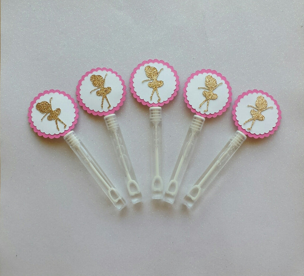 10 Ballerina Bubble Wands - Super Capes and Tutus, Bubble Wands, [product_tags]
