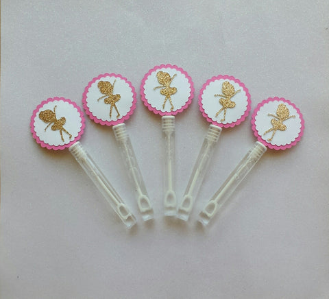 10 Ballerina Bubble Wands