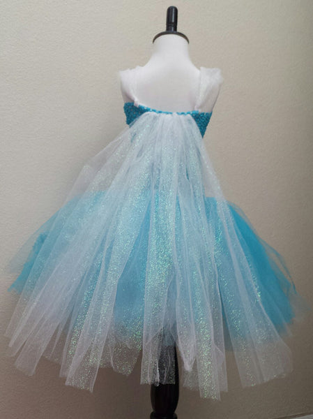 Ice Princess/Snowflake Tutu Dress - Super Capes and Tutus, Tutu Dress, [product_tags], Super Capes and Tutus