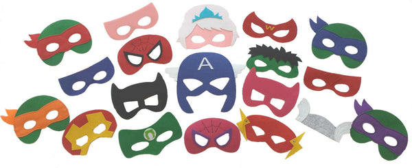 Sale! Superhero Masks - Ready to Ship / Party Favors /Gifts / Christmas Gifts / Stocking Stuffers - Super Capes and Tutus, Superhero Masks, [product_tags]