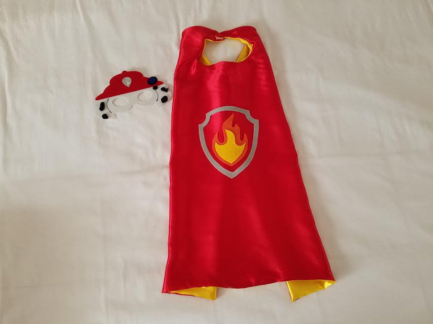 Marshall Paw Patrol Cape and Mask - Super Capes and Tutus, Superhero Capes, [product_tags]
