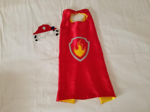 Marshall Paw Patrol Cape and Mask - Super Capes and Tutus, Superhero Capes, [product_tags], Super Capes and Tutus
