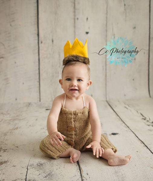 Wild One Birthday Crown/ First 1st Birthday Crown/Cake Smash/ Max Crown/ Photo Prop - Super Capes and Tutus, Birthday Hats, [product_tags], Super Capes and Tutus
