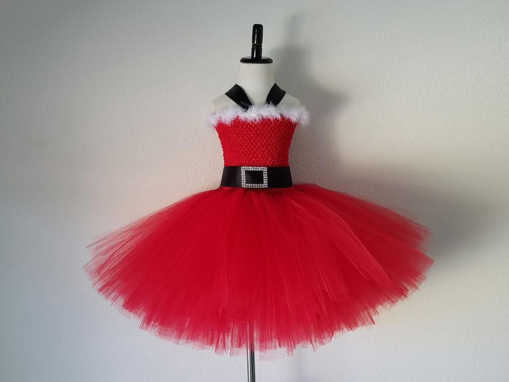 Santa Christmas Tutu Dress - Super Capes and Tutus, Tutu Dress, [product_tags], Super Capes and Tutus