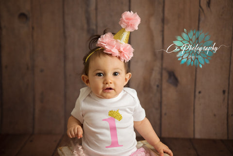Little Princess Birthday Cake Smash Outfit