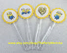 8 Custom Inspired Despicable Me Bubble Wands - Super Capes and Tutus, Bubble Wands, [product_tags]