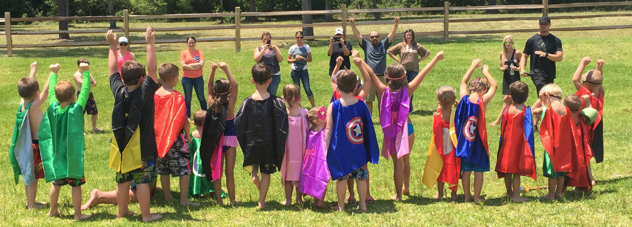 Superhero Party with Superhero Capes