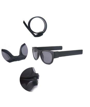 Latest 2016 – Trendy - Hawk Polarized Smart Folding Slap Fashion Sunglasses Creative Wristband Perfect for Action Sports – Contact: +974 5035 0303