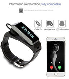 Latest 2016 Hawk - Smart K2 Bluetooth Dual Sleep Monitor Talk Band Wristband Bracelet with headset. - Qtopdeals - 7