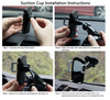 G-Cord® 2-in-1 Car Mount Holder and Air Vent Mount for iPhone and other Mobile Devices