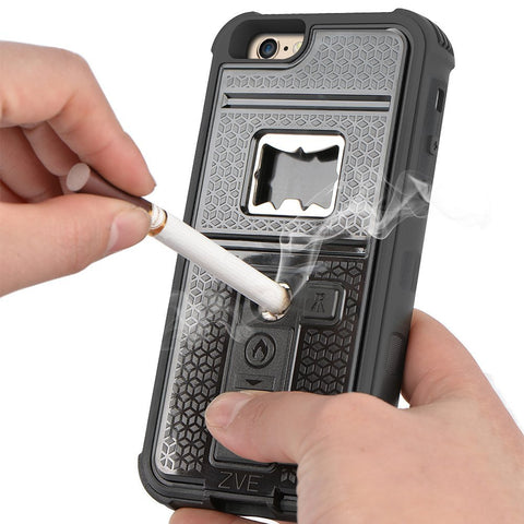 2016 Latest iPhone 6s Case with Cigarette Lighter Cover and Bottle Opener - Qtopdeals - 1