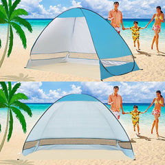 Sunshade Basecamp Shelter Automatic Pop Up