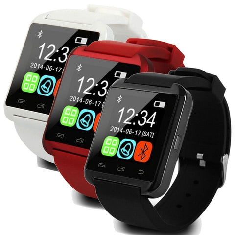 Premium Quality Smart Watches with Bluetooth, Pedometer, Hands Free Calling Function, Stopwatch - Qtopdeals - 1
