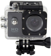 HAWK Waterproof 1080P - Sport Action Camera Diving Full HD DVR 30M Waterproof 1080P G Senor and accessories included – 1 Year warranty.