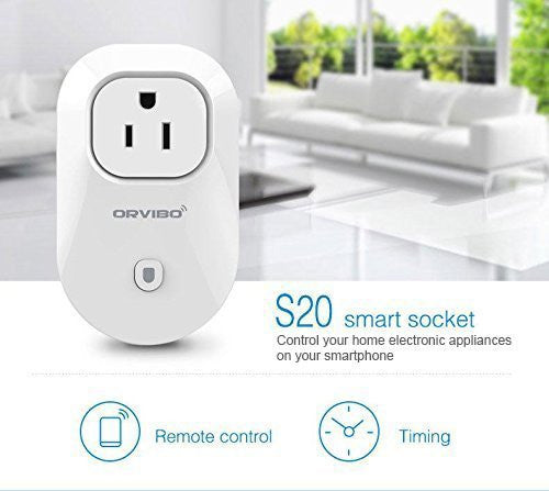 Save electricity wastage  – Brand New 2016 - Wi-Fi Smart Socket Outlet - Qtopdeals - 1