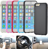 2016 New Creative Nano Suction Tech Self Sticky Anti-Gravity Case Mobile Phone Cover for iPhone 6 & 6s - Qtopdeals - 2