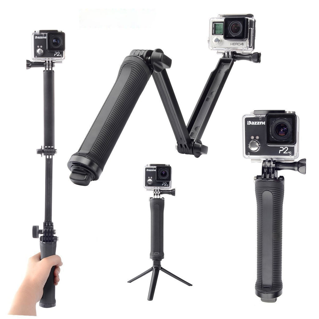 3 Way Monopod Adjustable Selfie Stick for all Smart Phones